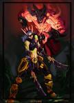 Demon hunter commission