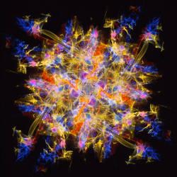 Light art visualization of musical note by Ultranova9