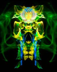 Sunflower Bee Alien thingy by Ultranova9