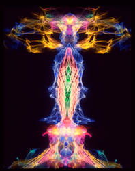 Visual Music Pulsing Pillar by Ultranova9