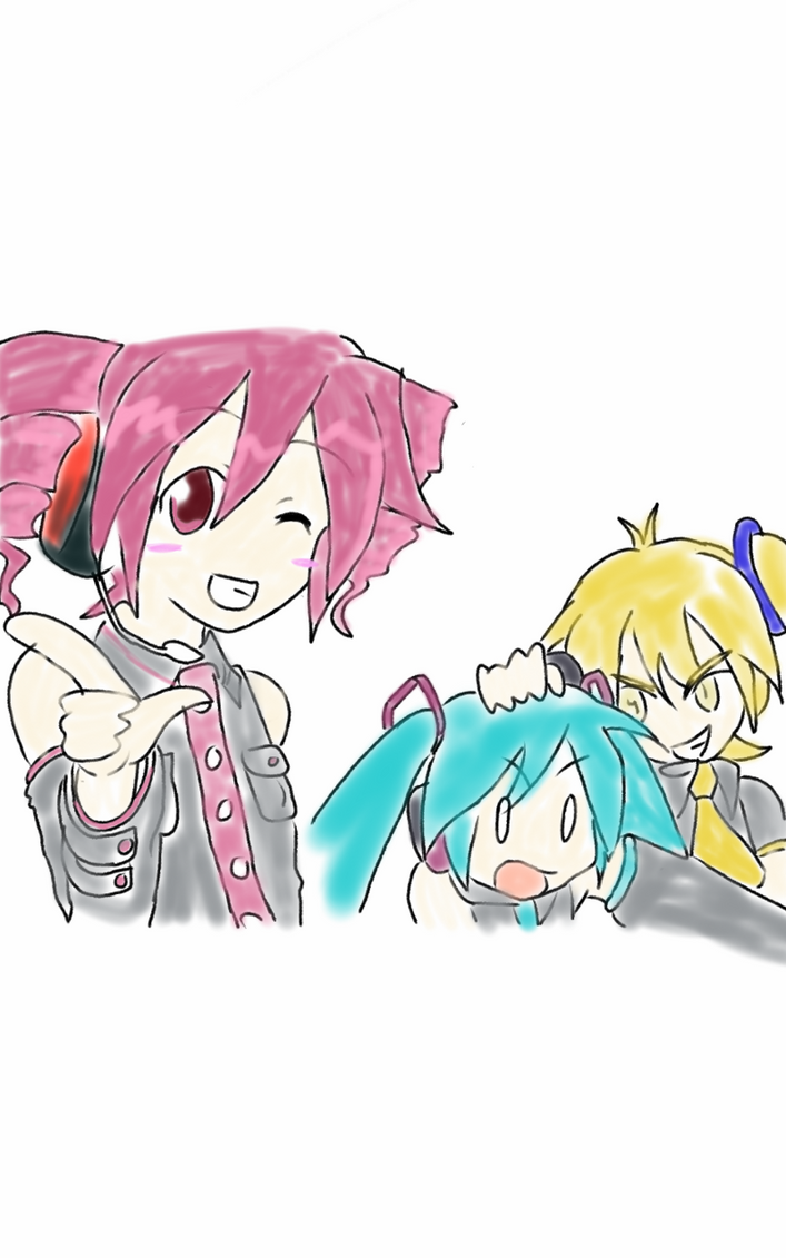 vocaloid!!!! :D by Watashiwakareoai