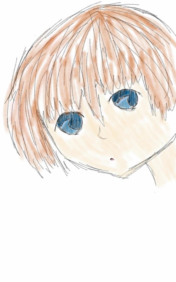 random anime kid by Watashiwakareoai