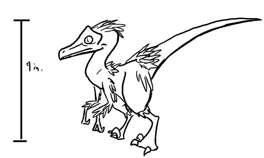 Tiny Raptor by Chorocojo
