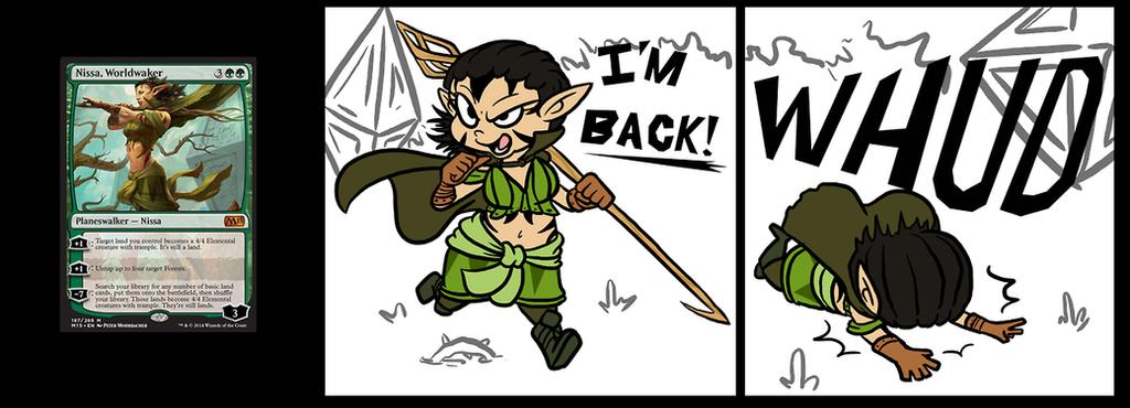 Nissa's Back by Chorocojo