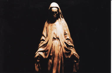 Skeletal Madonna IV by RecluseSpider
