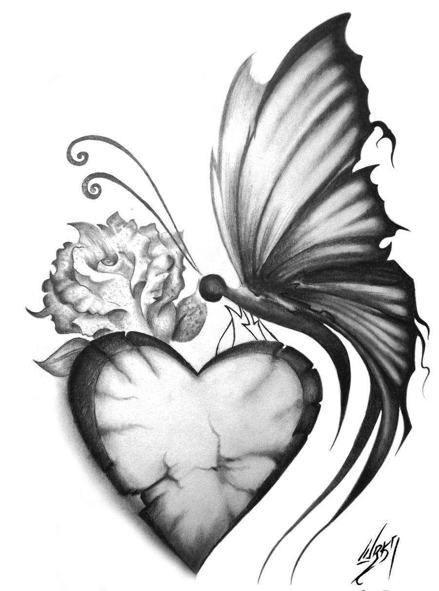Butterfly by tresdiasdegracia on deviantart for Cool drawings of butterflies