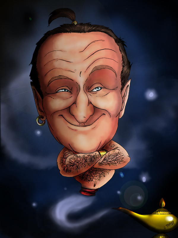 Robin Williams Charicture by ElementJax