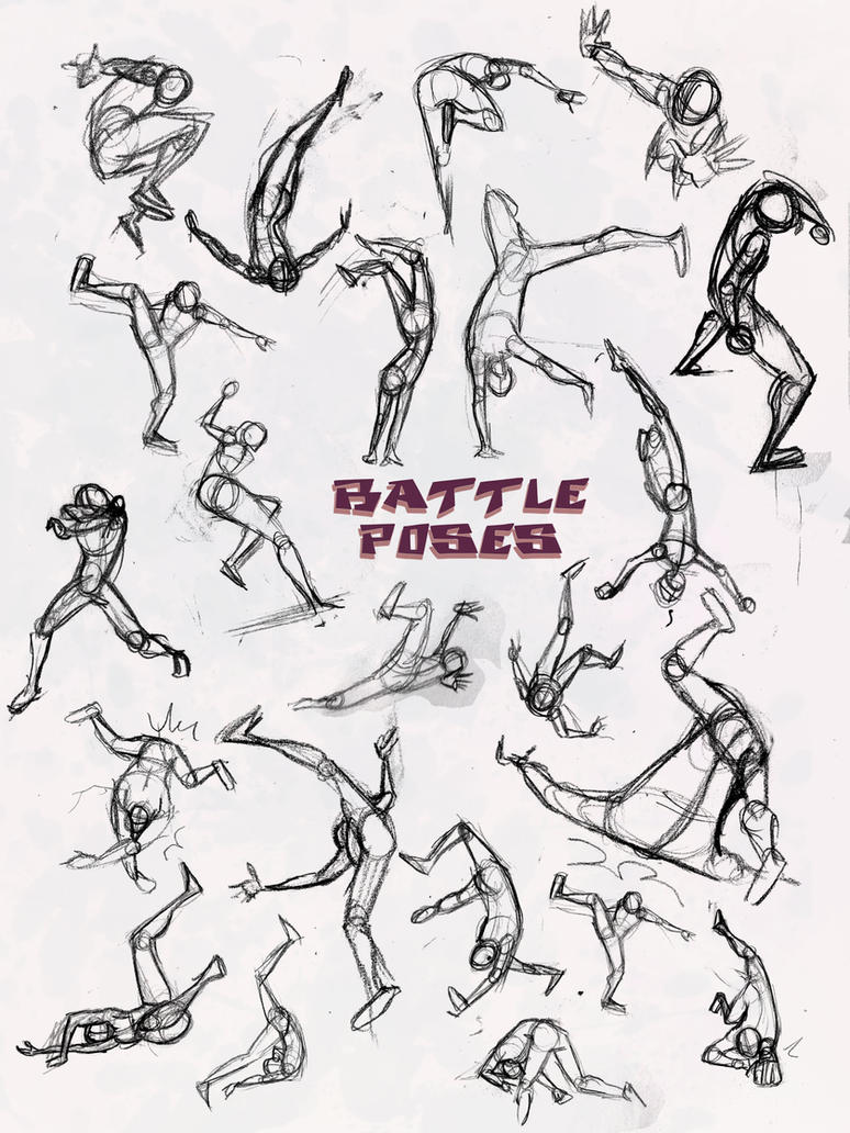 Battle Pose- Dodge and Pwned by ElementJax