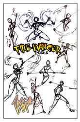 POSES- Fire dancer