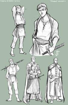 TA Marn character concepts