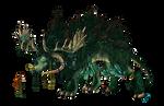 ELEMENTS- Cernunnos Dragon (True) Form