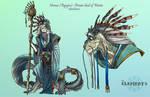 ELEMENTS- Nereus Orsian God of Water God Form