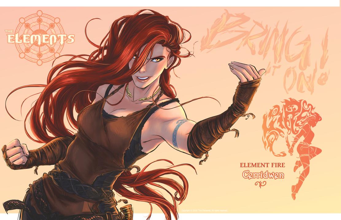 Element of Fire Cerridwen by ElementJax