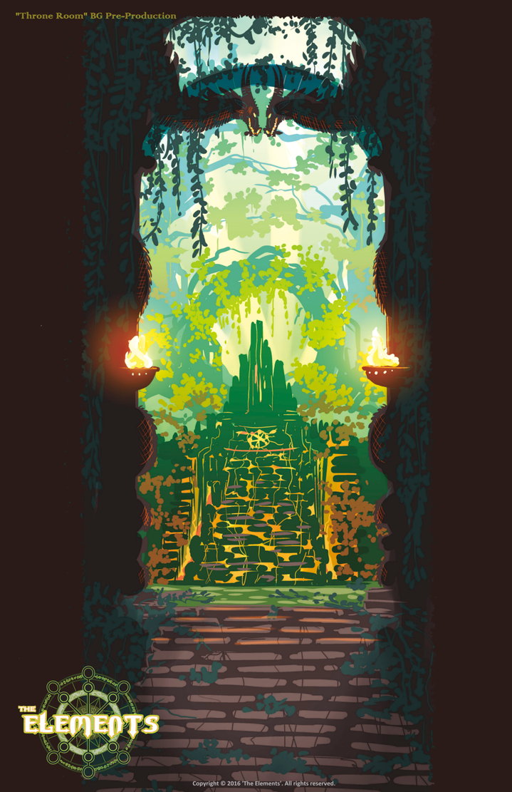 ELEMENTS Throne Room Entrance by ElementJax