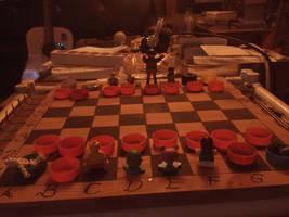 Selfmade Chessboard Woodcraft