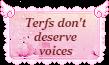 Shut up terfs