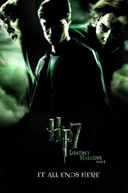Deathly Hallows Part 1 Poster By Thedoctorwho07