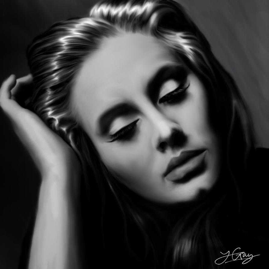 Painting Pictures Lyrics Adele