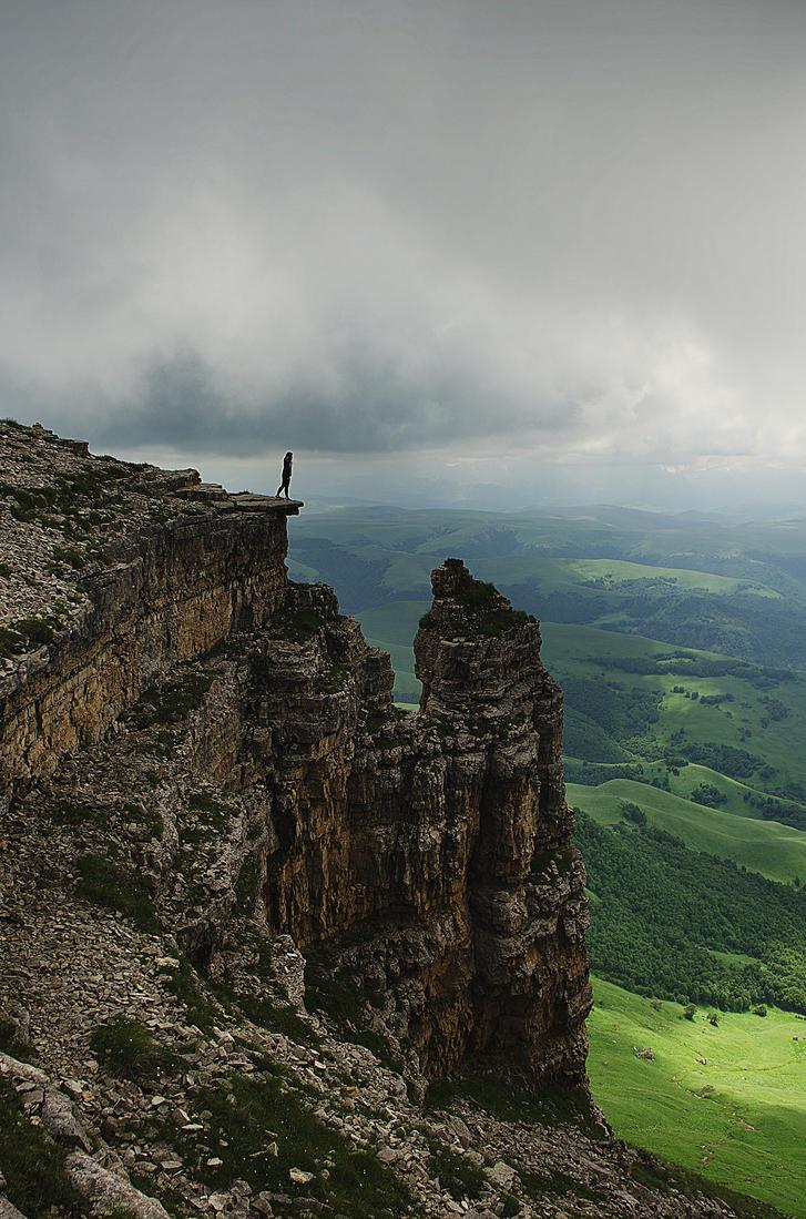 at the edge. by ilmari-nen