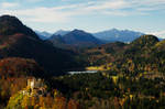 golden autumn in the Alps.