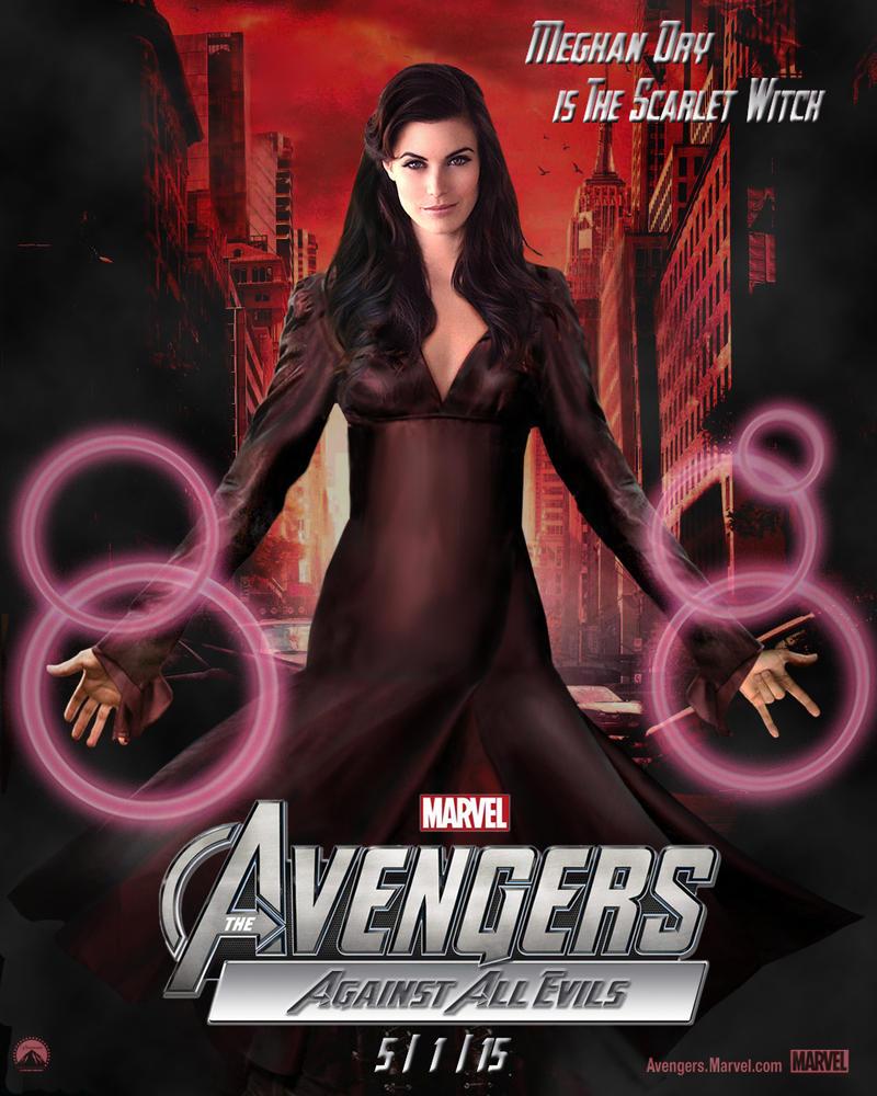 Meghan Ory avengers