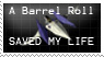 Barrel Roll stamp UPDATE by BatLover800