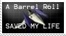 Barrel Roll stamp UPDATE by BatLover800