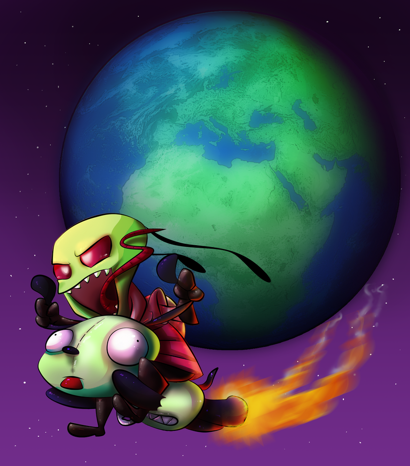 Invader Zim by BatLover800