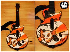 Guitar Hero : Custom Faceplate