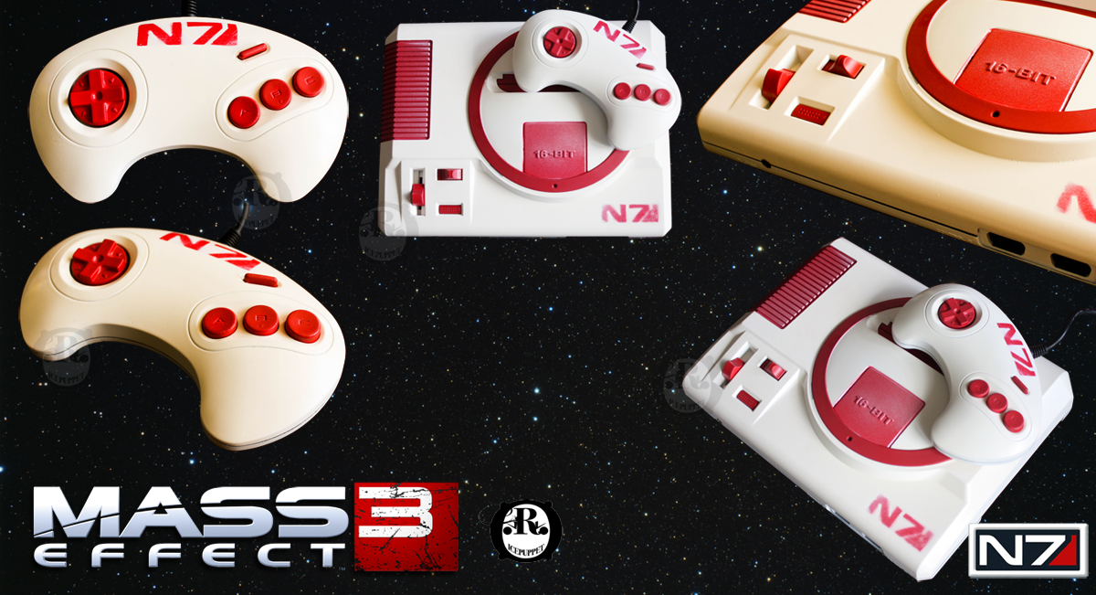 The Genesis Effect - Custom SEGA Genesis by ricepuppet