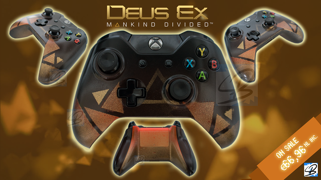 I didn't ask for this - Deus Ex Xbox One Joystick