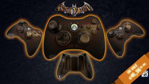 Gotham is on Fire - Custom Xbox 360 Joystick SOLD