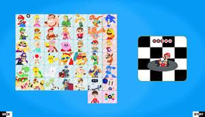 Nintendo Kart Roster by TheAnvilDEV