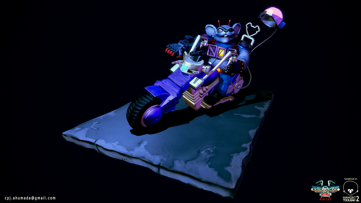 Biker Mice from Mars - Modo by zeevs