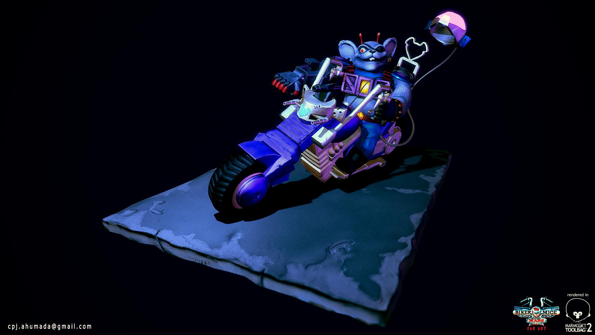 Biker Mice from Mars - Modo by zeevs on DeviantArt