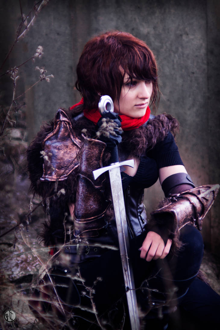 Armor cosplay photoshoot