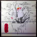 Mononoke Hime Drawer Part2 - Closer view