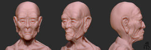 WIP - Pawn's face 2
