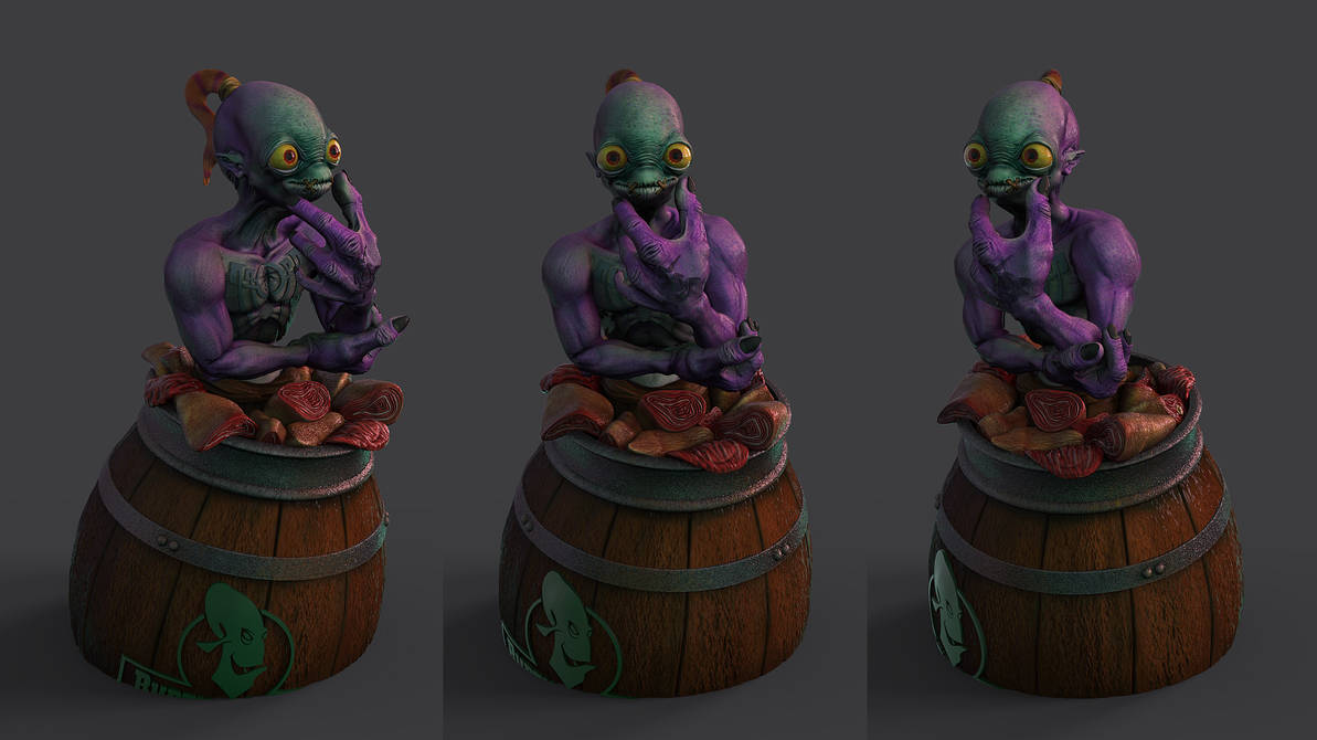 Oddworld: Abe's Oddysee - Front Views