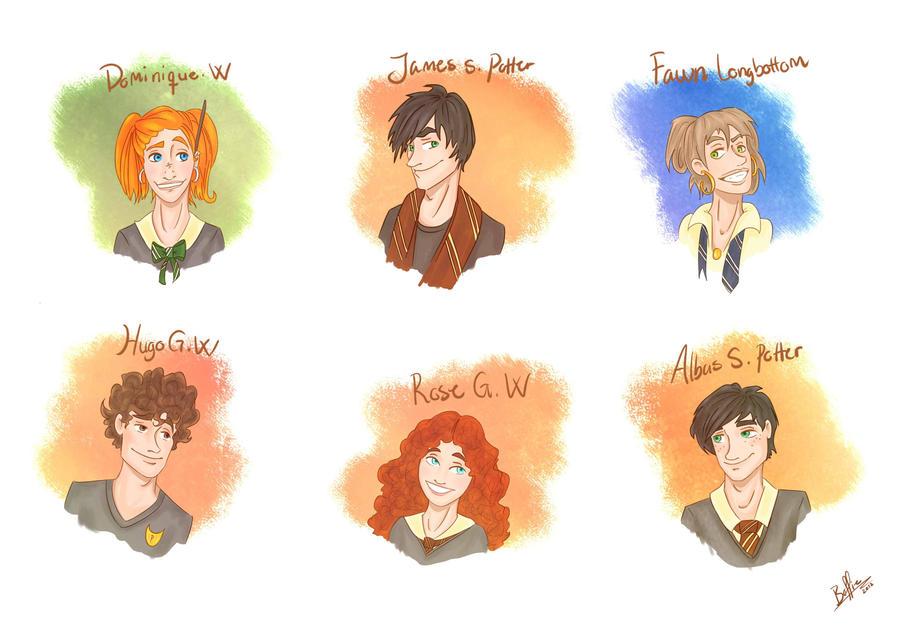 Harry Potter Next generation by BoffieXD