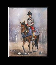 Sarmatian horse portrait by sanderus