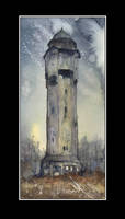 Water tower in Borki