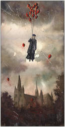 Rector taken up to heaven alive by sanderus