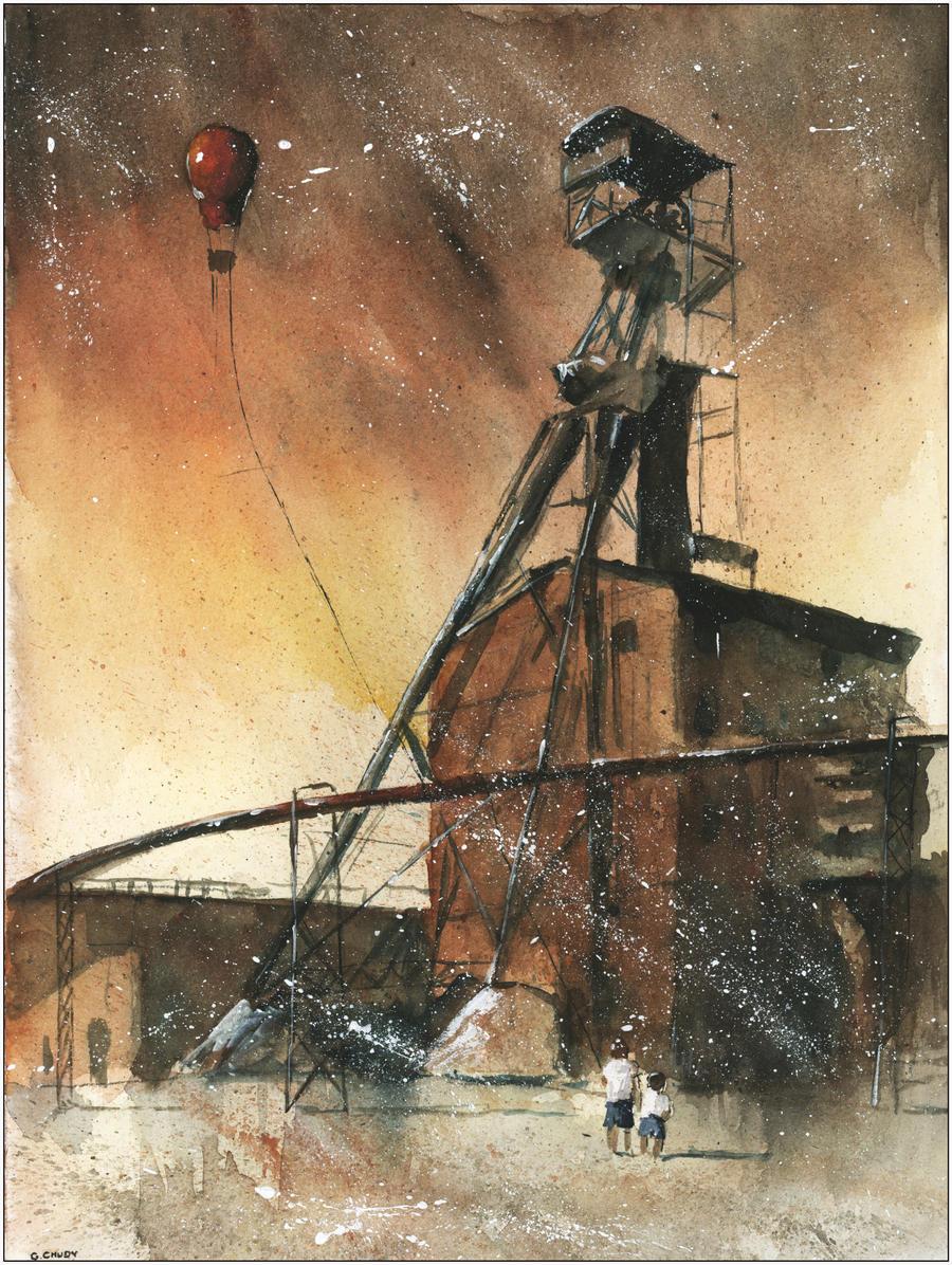 The coalmine Guido by sanderus