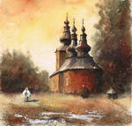 The orthodox church in Blechnarka