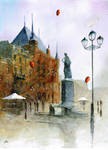 Watercolour from Torun