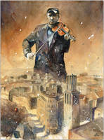 A music of the city by sanderus