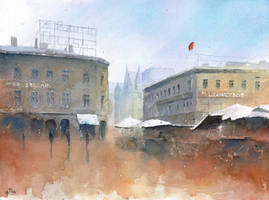 The marketsquare in Katowice