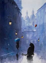 A tomcat from Piwna Street by sanderus
