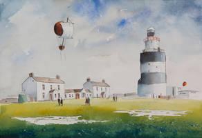 Hook Head lighthouse by sanderus